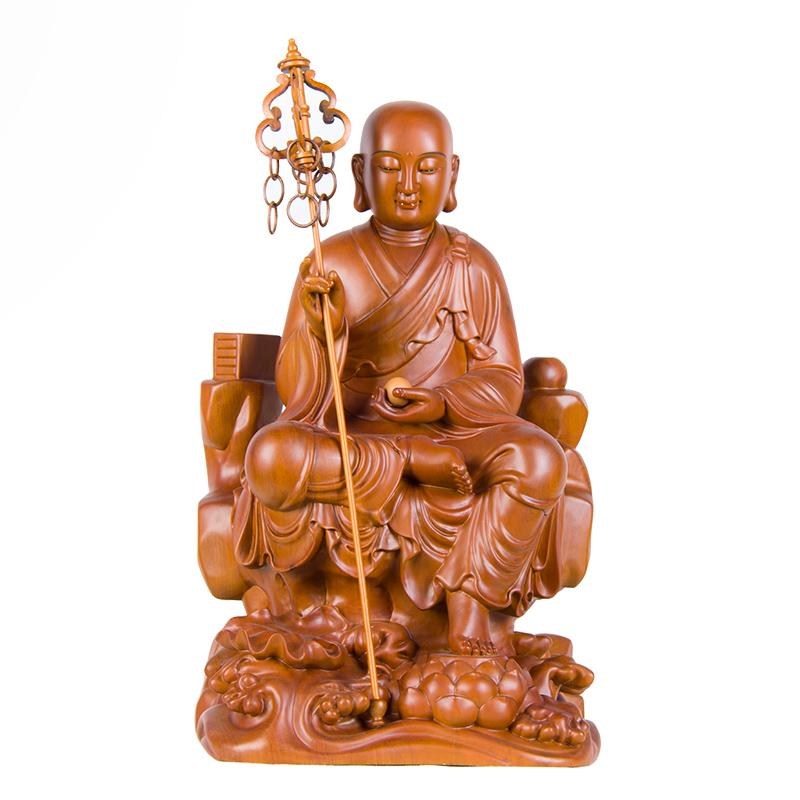 地藏王菩萨梢楠木(12寸)