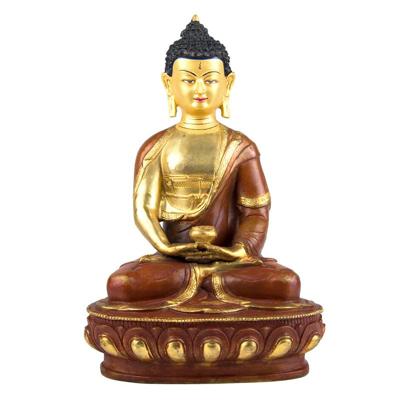 阿弥陀佛 铜像手工打造(10寸)
